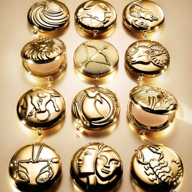 Golden Wonders – The Estée Lauder Zodiac Compacts