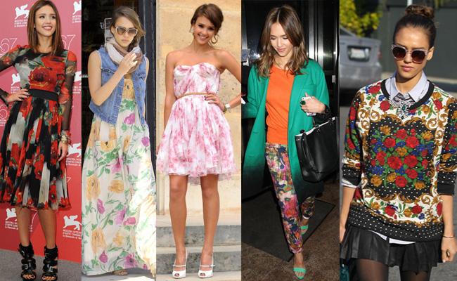 jessica-alba-star-style-taurus-fashion-florals