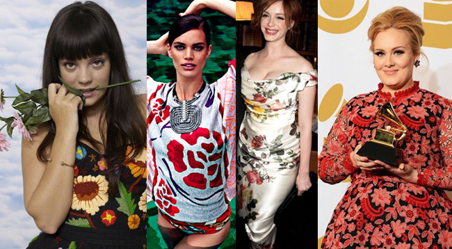 taurus-fashion-celebrity-florals