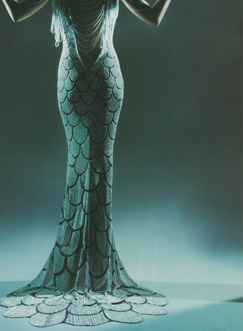 alexander mcqueen fish tails