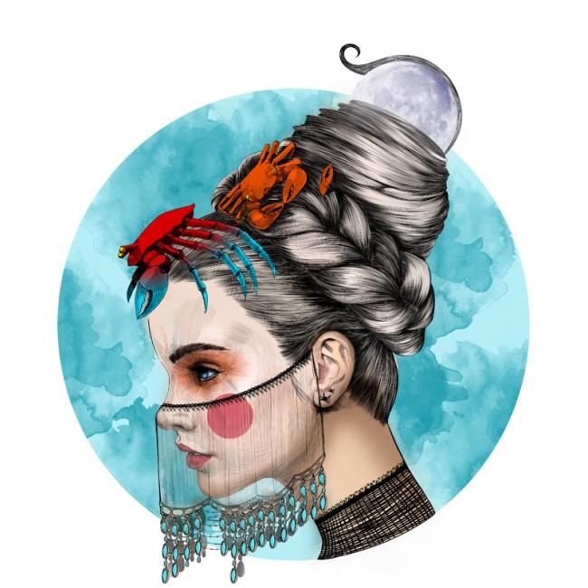 mustafa-soydan-zodiac-illustrations-cancer
