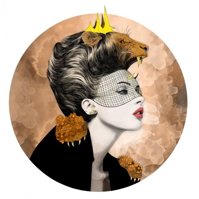 mustafa-soydan-zodiac-illustrations-leo