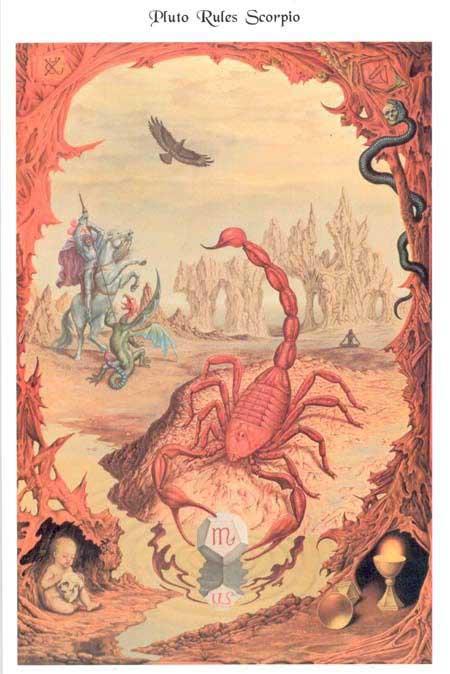 Johfra-Bosschart-Scorpio-painting