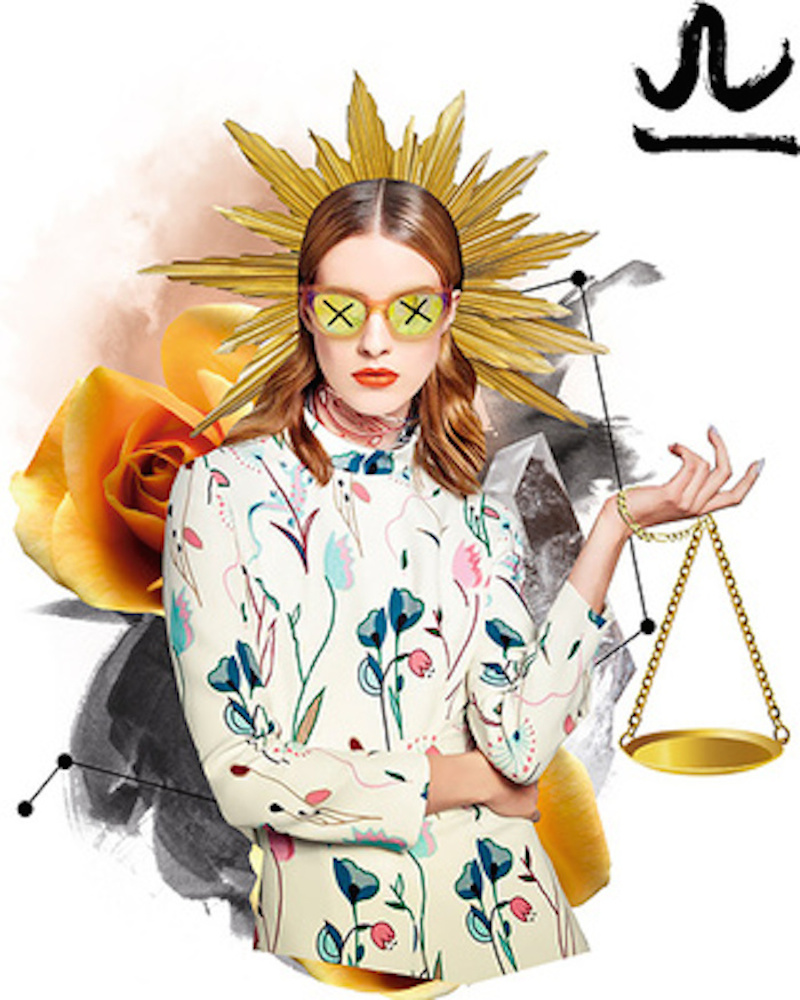 Vogue Mexico Horoscope Illustrations