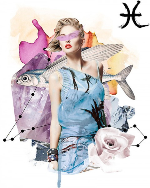 Vogue Mexico Horoscope Illustrations