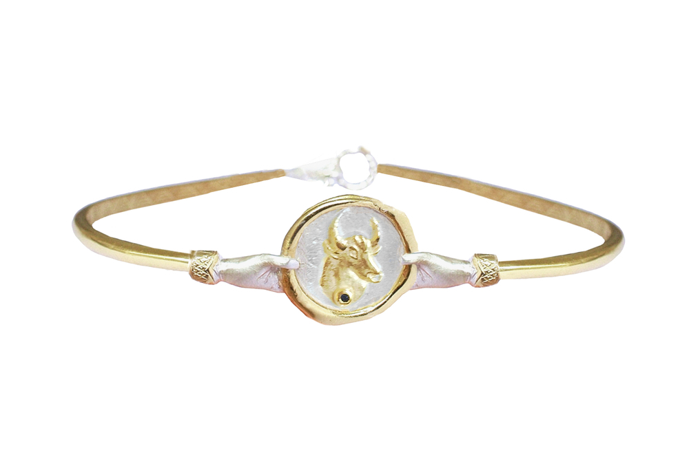 Zodiac-Bangle-Taurus