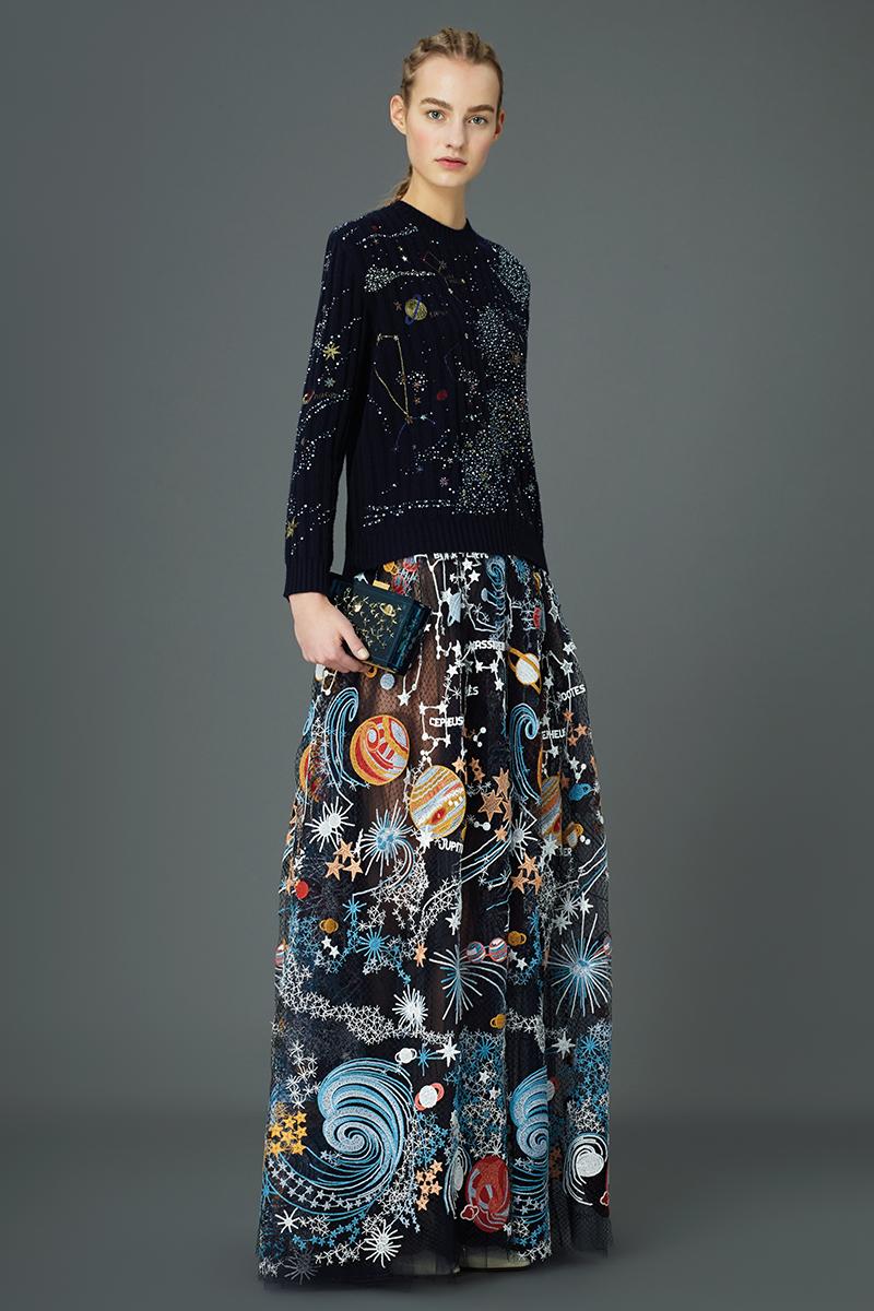 Valentino Pre-Fall 2015 Cosmos Dresses