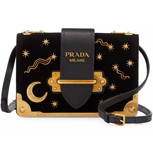 Prada Velvet Astrology Bag