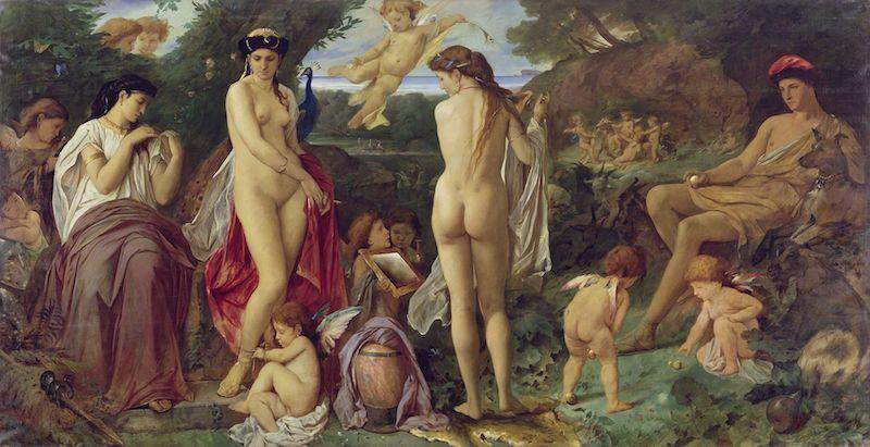 the-judgement-of-paris-feuerbach-circa-1869-1870