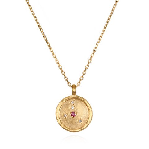 Zodiac accessories and astrology style cancer jewelry satya zodiac necklace aloadofball Image collections