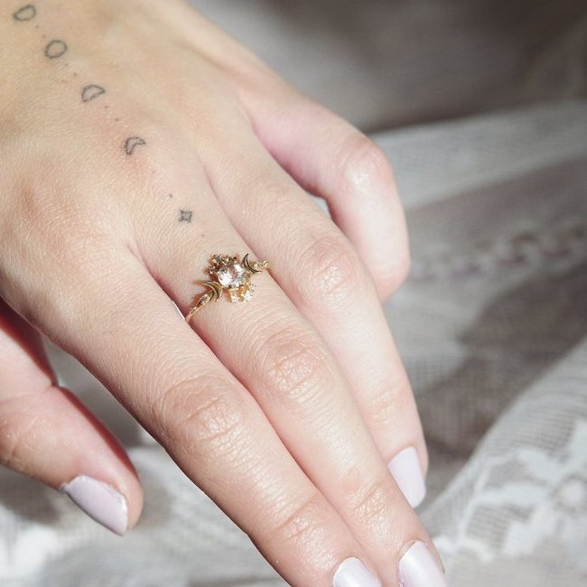 rings tumblr ring moon engagement sailor