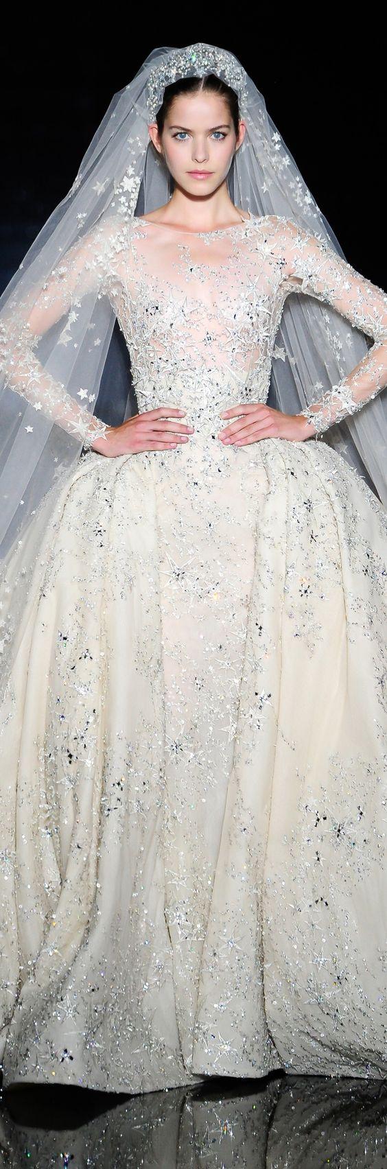Celestial Inspiration Cosmic Wedding Dresses For Moon