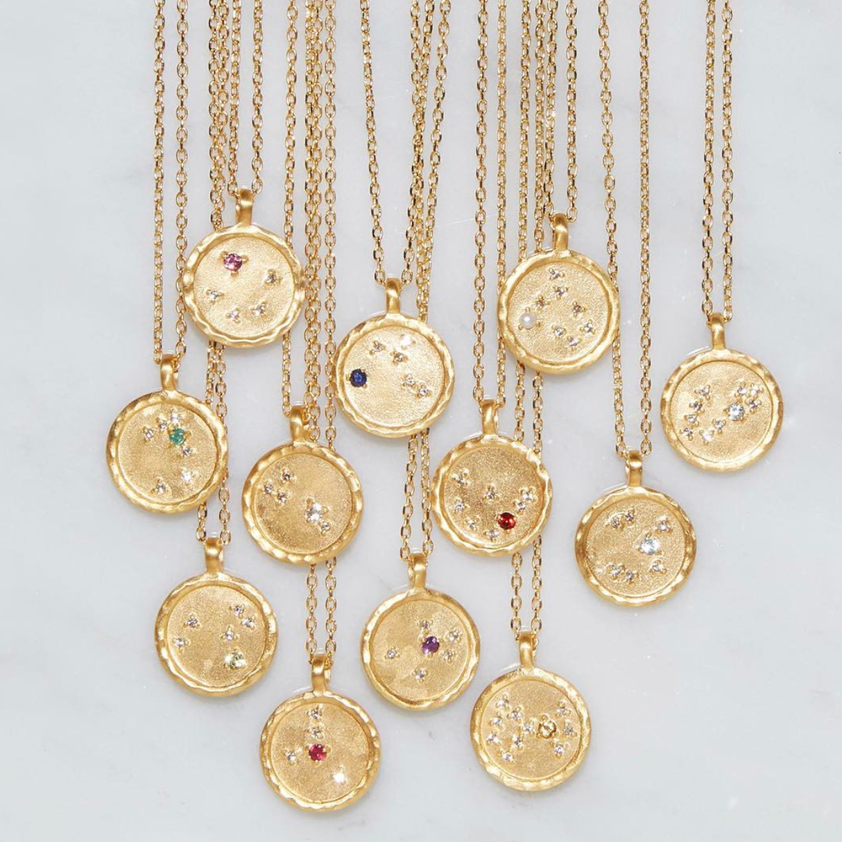 Astrological Necklaces – Satya Jewelry Zodiac Collection