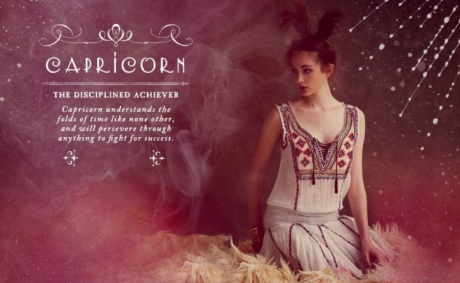 Astrology And Fashion The Free People Zodiac Photo Shoot