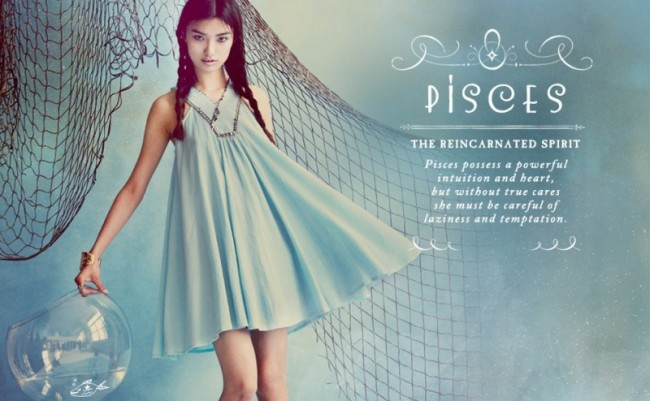 Astrology And Fashion The Free People Zodiac Shoot