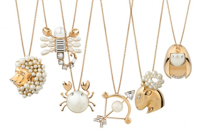 Astrology Accessories Tell Me Dior Zodiac Pendants