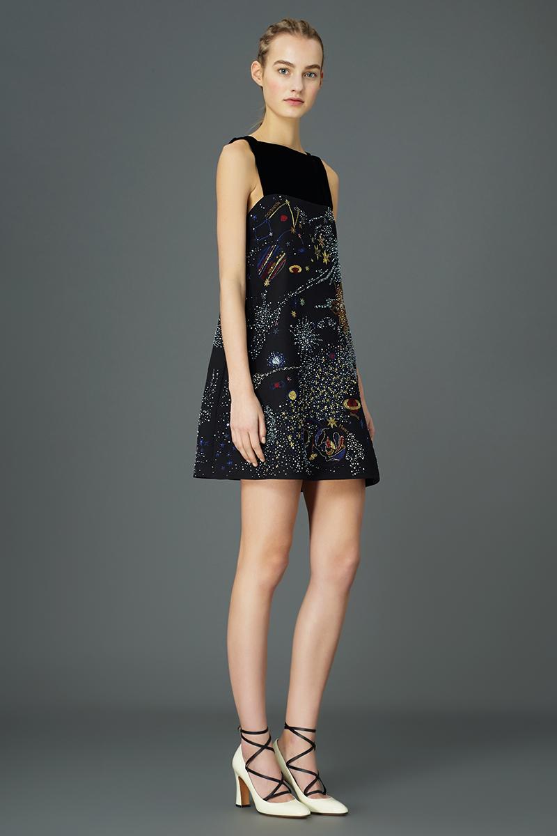 Valentino Pre Fall 2015 Cosmos Dresses