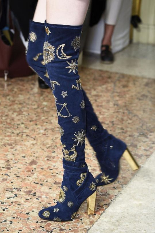 Astrology Shoes – Emilio Pucci Zodiac Boots