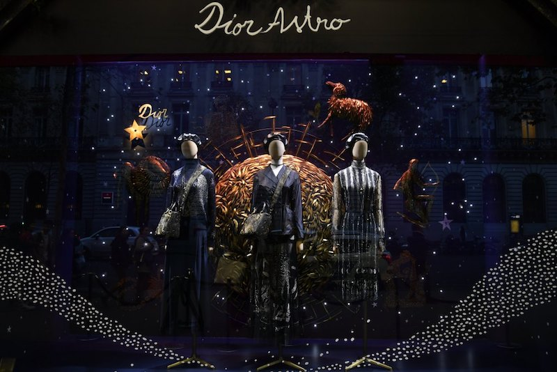 Dior Turn 70 With An Astrology Balloon At Galerie Lafayette