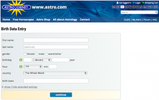 AstroCartoGraphy And How To Generate An Astro Map Free Online!