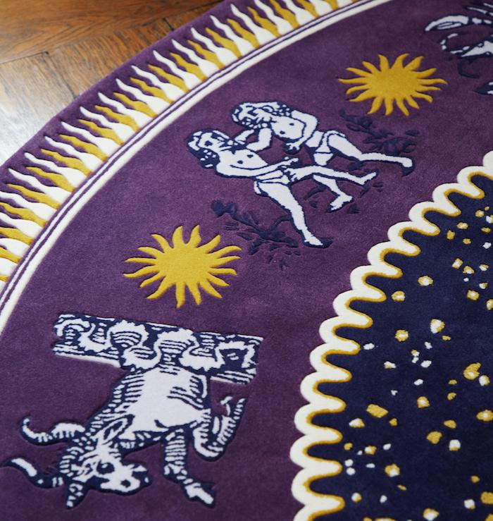 This Zodiac Rug By Sasha Bikoff Interior Design Is Magic