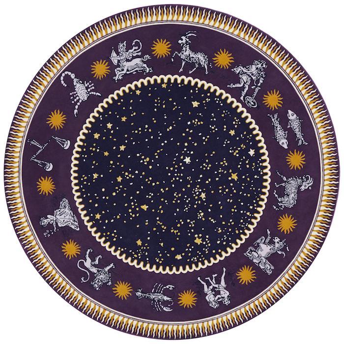 This Zodiac Rug By Sasha Bikoff Interior Design Is Magic